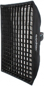 GODOX Softbox Rectangulaire Monture Bowens (70X100cm) + Grille (New)