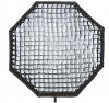 GODOX Softbox Octogonale + Grille Nid D