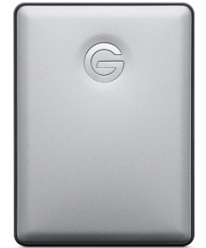 G-TECHNOLOGY Disque Dur G-Drive Mobile USB-C 2TB Argent (OP FRENCH)