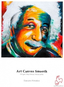 HAHNEMÜHLE Papier Photo Art Canvas Smooth 370g 1524mmx12m