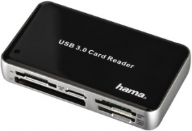HAMA Lecteur de Cartes Mémoire SuperSpeed All in One USB 3.0