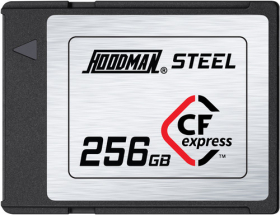 HOODMAN Carte CF Express 256GB 1700/1400MB/s