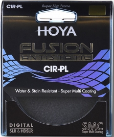 HOYA Filtre Polarisant Circulaire Fusion Antistatic D82mm (OP RELAX)
