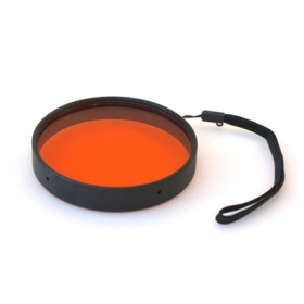 IKELITE 6441.46 Filtre Externe Orange 3.9