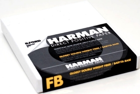 ILFORD Papier Harman Direct Positif FB 12.7x17.8 25 Feuilles Brillant (OP LUM10)