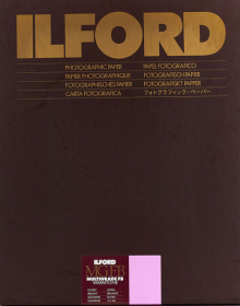 ILFORD Papier Multigrade Warmtone FB 18x24cm 100Feuilles 1K