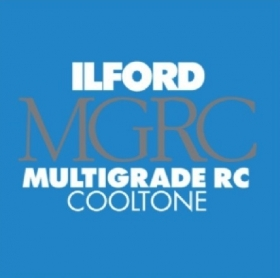 ILFORD Papier Multigrade RC Cooltone 24x30cm 50 Feuilles 1M Brillant