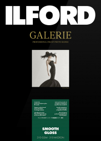 ILFORD Papier Galerie Prestige Smooth 310g A3 25 Feuilles Brillant