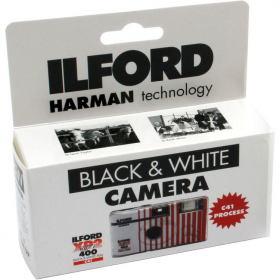 ILFORD Jetable Flash XP2 400 Asa 27 Poses