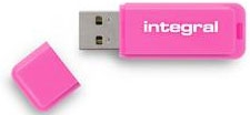 INTEGRAL Clé USB 2.0 Neon 16GB Rose