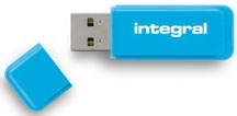 INTEGRAL Clé USB 2.0 Neon 8GB Bleu