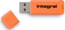 INTEGRAL Clé USB 2.0 Neon 8GB Orange