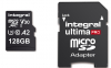 INTEGRAL Carte Micro SDXC Ultima Pro 128GB A2 (180/130Mb/s)