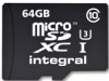 INTEGRAL Carte Micro SDXC Ultima Pro Gold 64GB (95/90MB/s)+ Lect 3.0