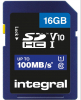 INTEGRAL Carte SDHC Ultima Pro U1 16GB (100MB/s) (Class 10)