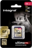 INTEGRAL Carte SDXC Ultima ProX 64GB V2 (95/60MB/s) (Class 10)