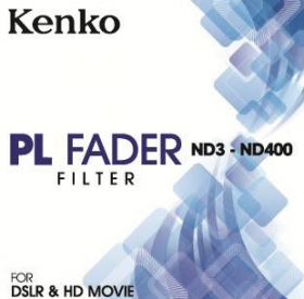 KENKO Filtre Polarisant Fader ND3-ND400 82mm