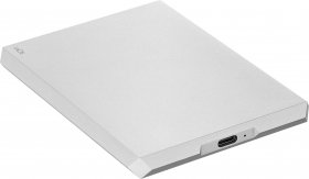 LACIE Disque Dur Mobile Drive Moon Silver USB-C 4TB (New)
