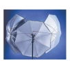 "LASTOLITE 4537 Parapluie ""All In One"" Argent/Blanc/Diffu. 10"