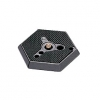 MANFROTTO 030-38 Plateau Rapide Hexagonal 3/8
