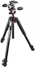 MANFROTTO MK055XPRO3-3W Trépied Pro 3 Sections + Rotule 3D