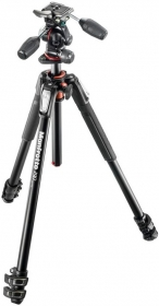 MANFROTTO MK190XPRO3-3W Kit Trépied Alu 3 Sections +Rotule 3D