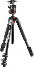 MANFROTTO MK190XPRO4-BHQ2 Trépied Alu 4 Sections +Rotule Ball