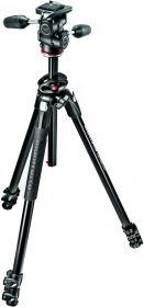 MANFROTTO MK290DUA3-3W Trépied Alu 3 Sections + Rotule MH804-3W
