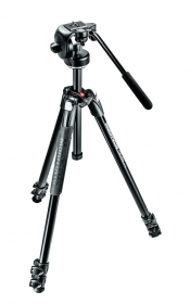 MANFROTTO MK290XTA3-2W Kit Trépied Alu 3 Sections + Rotule 128RC