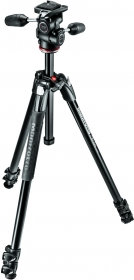 MANFROTTO MK290XTA3-3W Kit Trépied Alu 3 Sections + Rotule MH804-3W