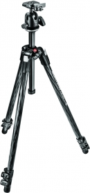 MANFROTTO MK290XTC3-BH Trépied Carbone 3 Sections+Rotule 496RC2