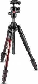 MANFROTTO MKBFRTA4RD-BH Trépied Befree Advanced M-Lock Rouge