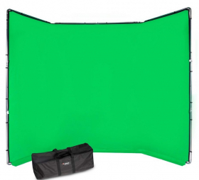 MANFROTTO Kit Chroma Key FX 4x3m Chromagreen