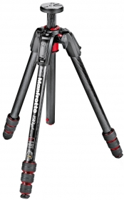 MANFROTTO MT190GOC4 Trépied 190GO! Carbone 4 Sections