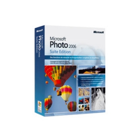 microsoft photo 2006 suite edition retouche