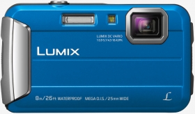 PANASONIC Lumix DMC-FT30 Etanche Bleu