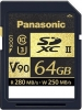 PANASONIC Carte SDXC 64GB V90 UHS-II 280MB/s
