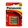 PANASONIC Piles Pro Power LR3 (Blister de 4)