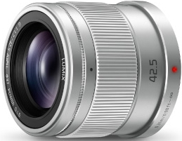 PANASONIC 42.5mm f/1.7 ASPH Power OIS Micro 4/3 Silver