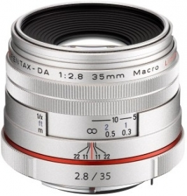 PENTAX 35mm Macro f/2.8 HD Limited DA Silver