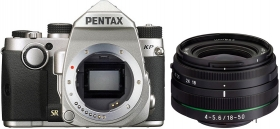 PENTAX KP + 18-50mm RE Silver