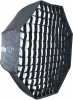 PHOTTIX Softbox Pro Easy-Up HD Octo + Grille Nid d