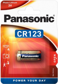 PANASONIC Pile Photo Power CR123A