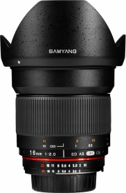 SAMYANG 16mm f/2 ED AS UMC CS Pentax KA