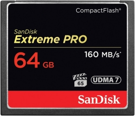 SANDISK Carte Compact Flash Extreme Pro 64GB 160 MB/s