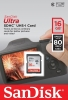 SANDISK Carte SDHC Ultra 16GB UHS-1 (80MB/s) (Class 10)