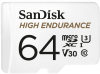 SANDISK Carte Micro SDXC High Endurance 64GB (100MB/s) (Class 10)