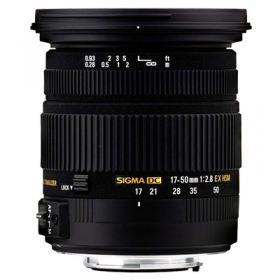 SIGMA 17-50mm f/2.8 DC OS HSM EX Canon (OP FRENCH)