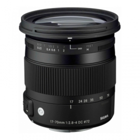 SIGMA 17-70mm f/2.8-4 DC Macro OS HSM Contemporary Nikon