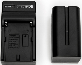SMALLHD Kit NPF Batterie + Chargeur (OP FRENCH)